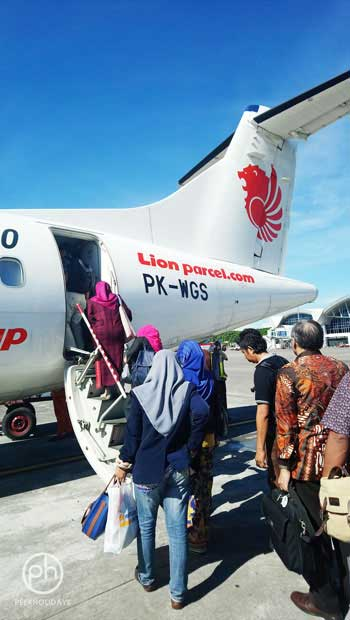 wings flight to Selayar Island